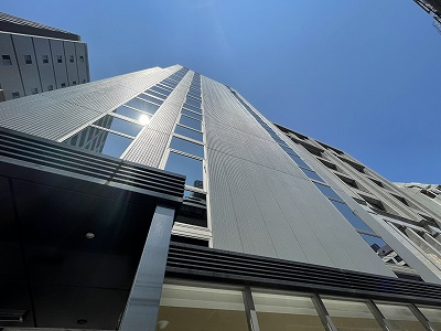 スタイリッシュな1フロア1テナントの安心セキュリティ完備の賃貸ビル